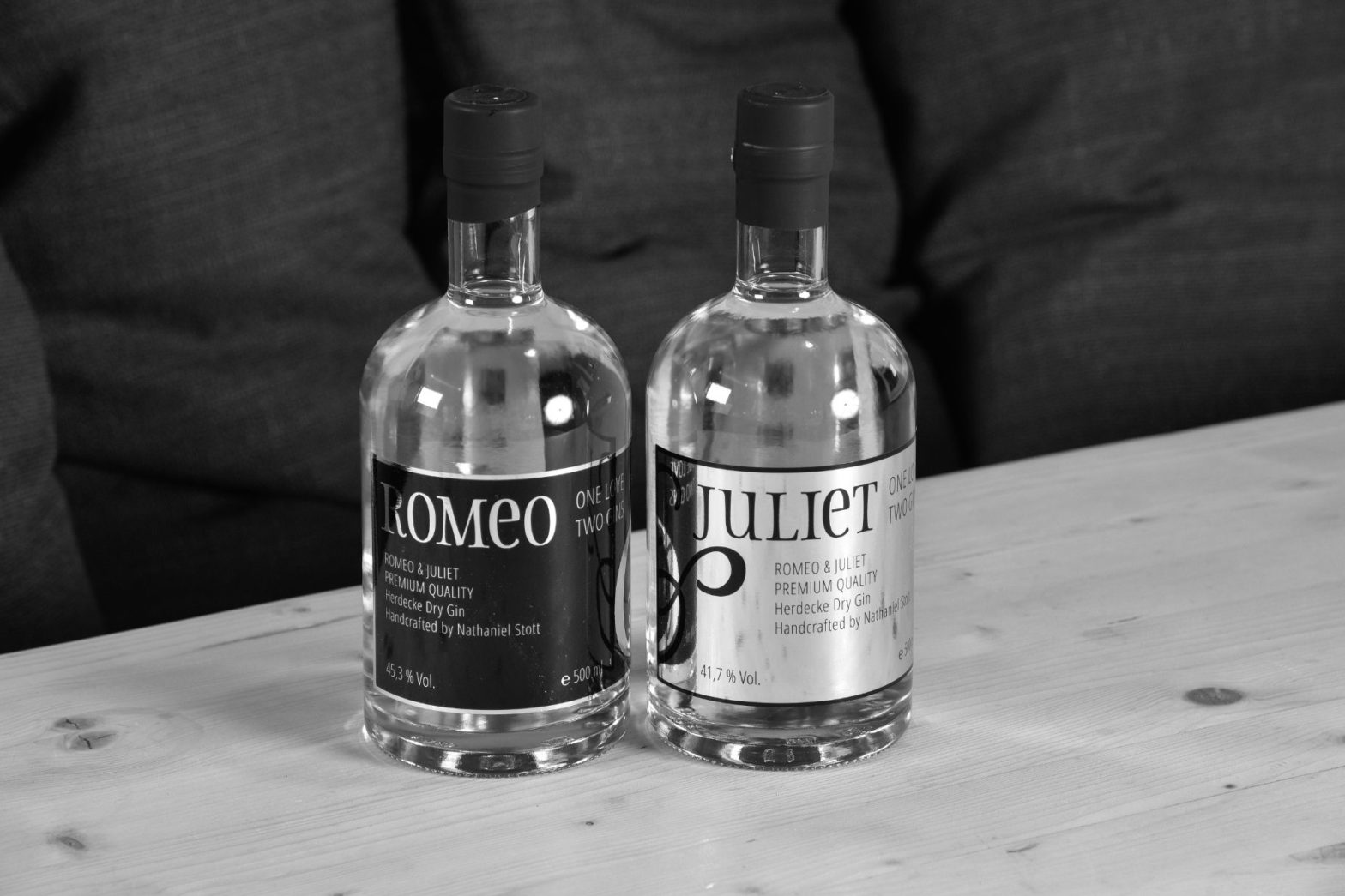 Romeo & Juliet Gin aus Liebe zum Geschmack