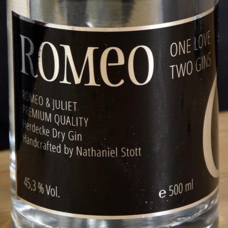 Pub@Home - Romeo Gin