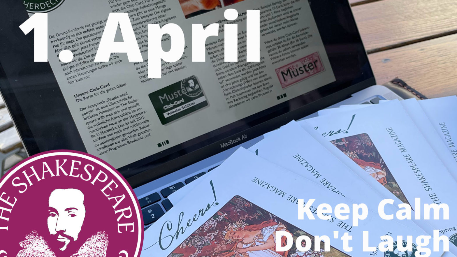1. April · It's not a Joke