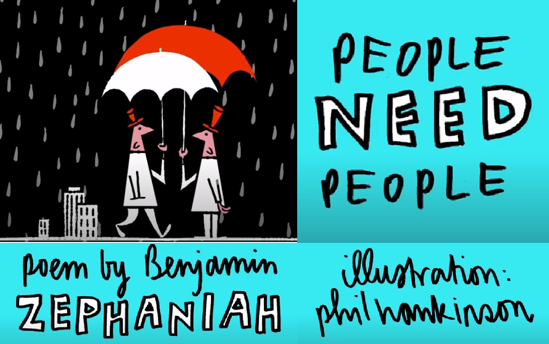 """People will always need people"""