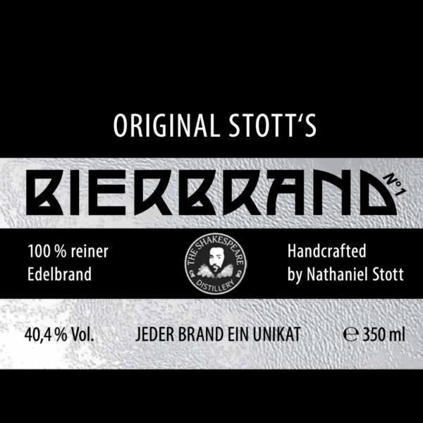 Stott's Bierbrand #001