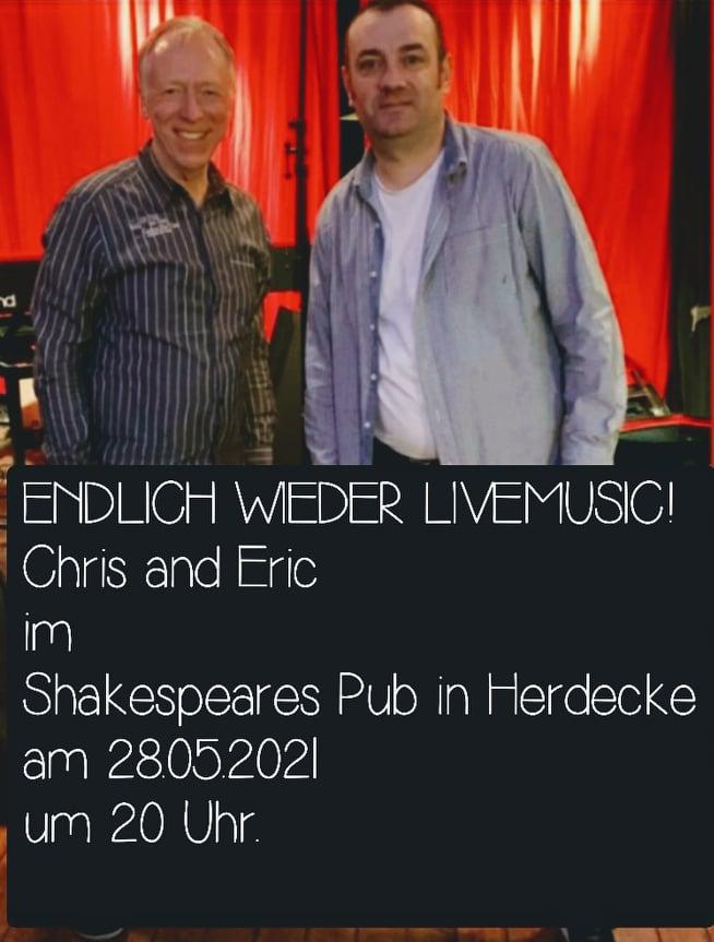 Endlich wieder Live Musik mit Chris & Eric