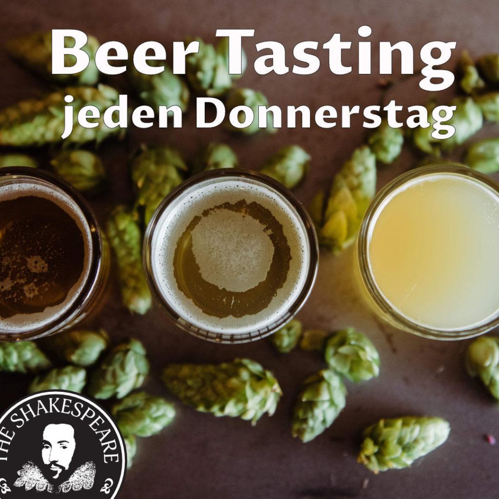 Beer Tasting - Entdecke die Wunderbare Welt der Biere