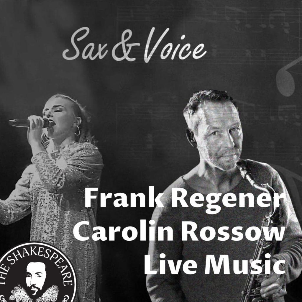 Sax & Voice — Frank Regener & Carolin Rossow