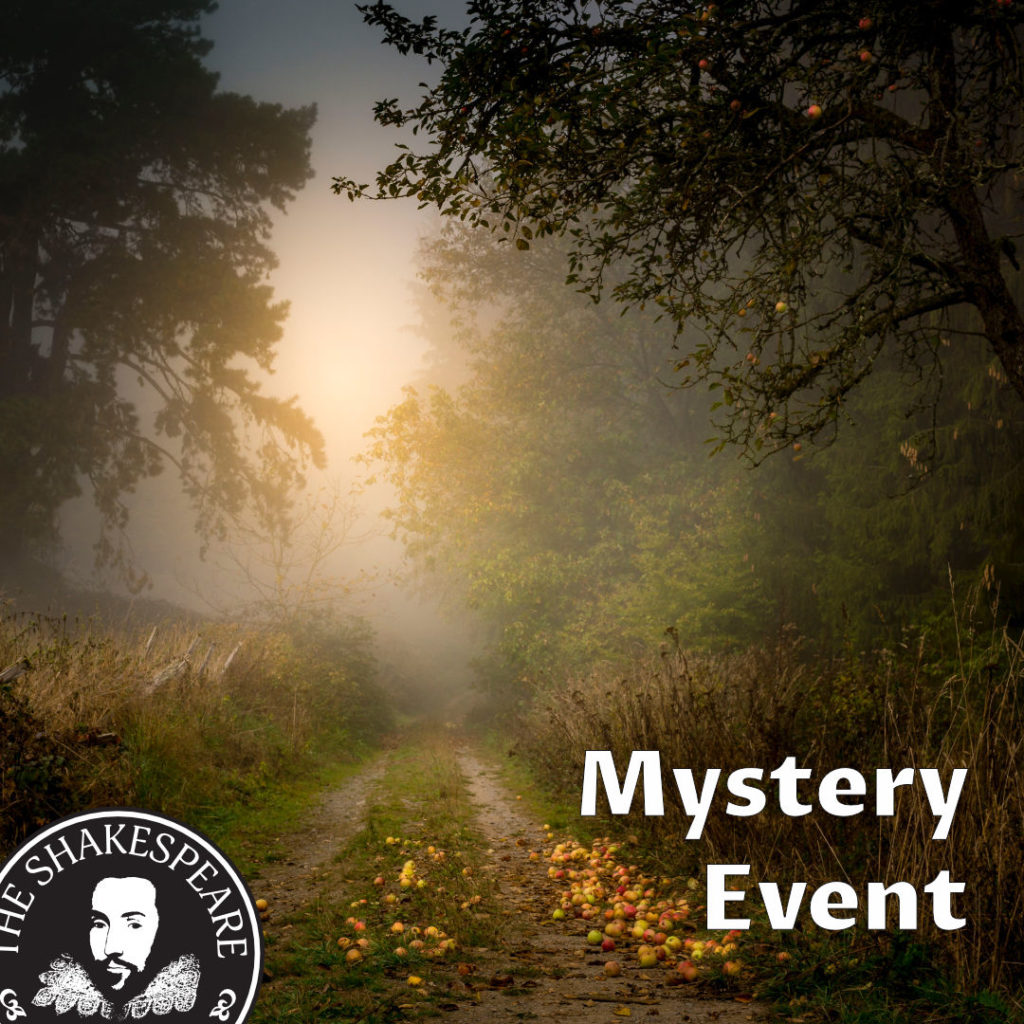Mystery Event - The Shakespeare Pub