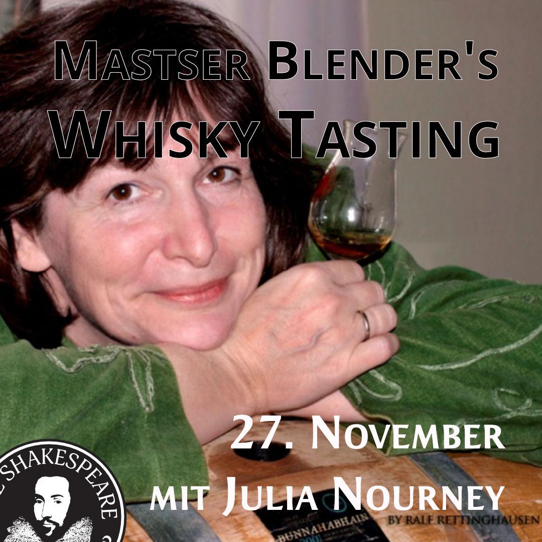Master Blender's Whisky Tasting mit Julia Nourney