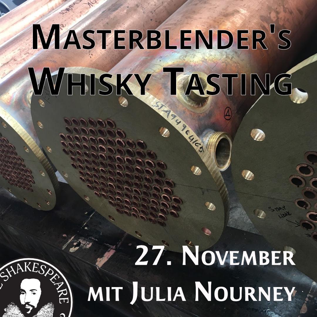 Masterblender's Whisky Tasting mit Julia Nourney